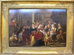 Le festin d'Hérode, copie d'après Rubens (restauré)