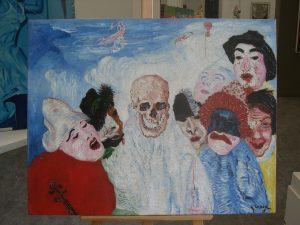 La mort et les masques, James Ensor